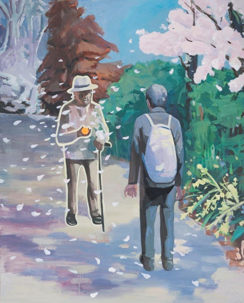 돌아온 계절-아버지의 선물_2019_Acrylic on canvas_162x130cm.jpg