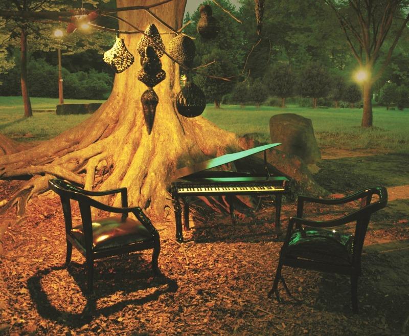 3. 2009년 개인전 '몽요담 - 이상한 숲으로 들어서다' 설치 모습.jpg