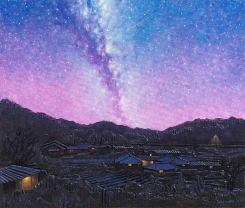 1.양나희.별의 시.2020.골판지부조에유채.60.6×72.7cm.jpg
