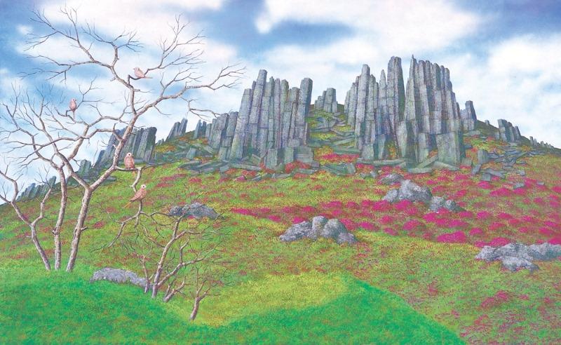 3-2.무등산의 봄, 181.8x290.9cm, 캔버스에 유채·아크릴릭, 2007.jpg