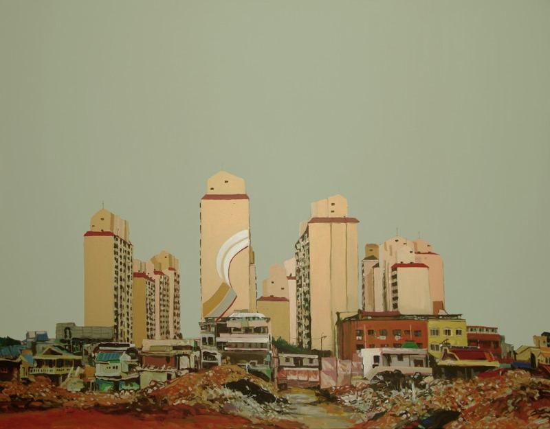 17. 계림동 재개발 91x116cm acrylic on canvas 2019.jpg