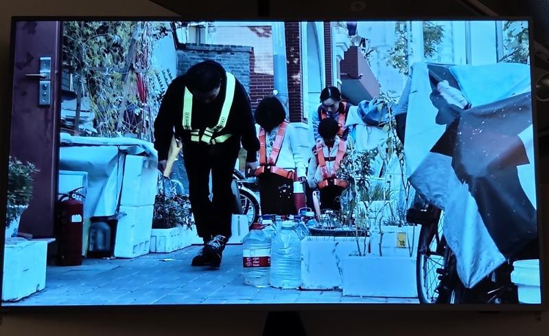 Deng Yufeng(鄧玉峰,중국.1985~).사라지기운동.2020.2채널비디오,모션추적다이어그램,퍼포먼스영상,13'1''.jpg